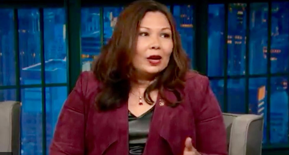 Iraq veteran Tammy Duckworth blisters 'draft dodger' Trump: Don't tell me what our military needs
