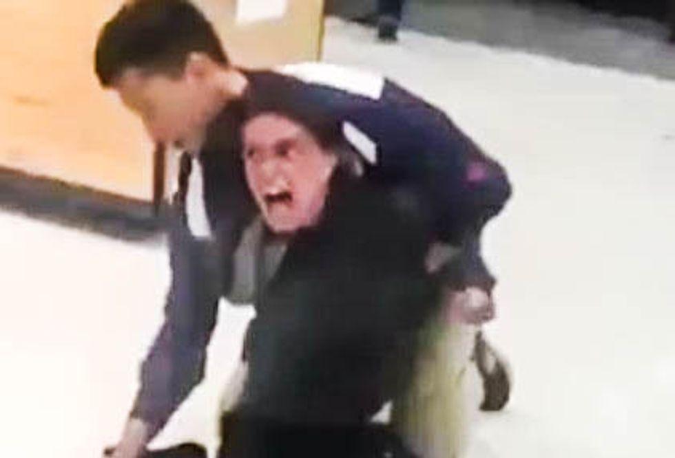 'F*cking sand n*ggers!' Racist customer goes berserk and hurls merchandise at Target employees