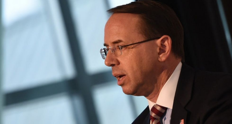 Trump ordered Rod Rosenstein to write memo justifying Comey's firing: New book