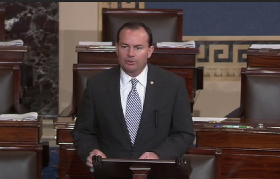 Trump spoke with Senator Mike Lee about Supreme Court: report