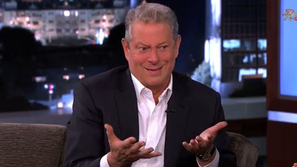 Al Gore says climate change deniers are 'just nuts'