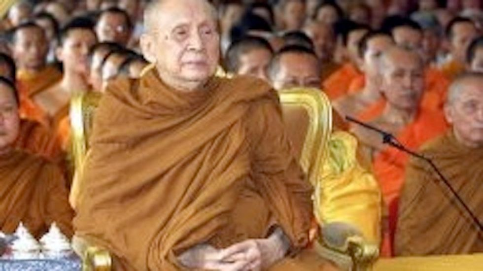 Thailand's top Buddhist leader dies at 100
