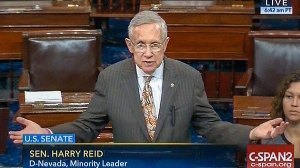 Harry Reid blasts FBI's Comey for 'partisan actions' and possible violations of federal law