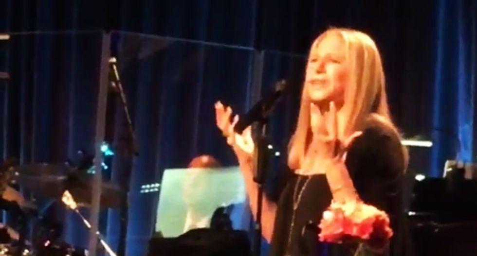 WATCH: Barbra Streisand's brilliant reworking of 'Send in The Clowns' into Trump parody —with lyrics
