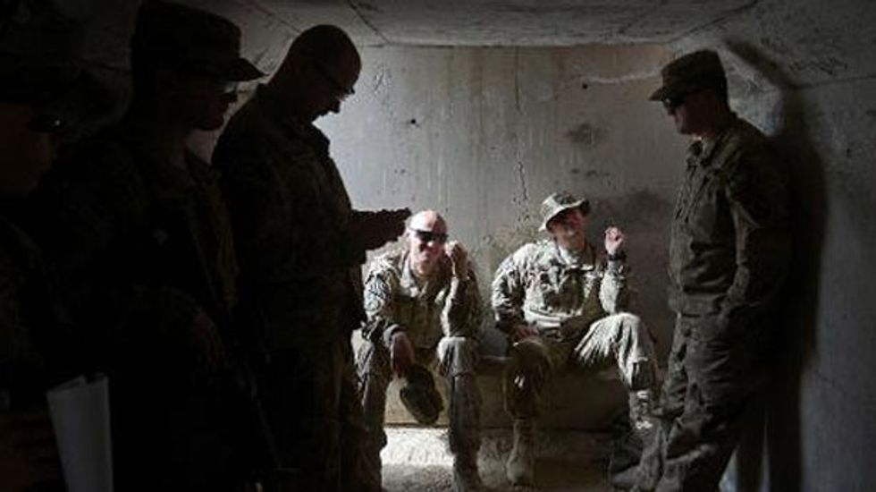 Little oversight of Afghan aid as bulk of U.S. troops pullout