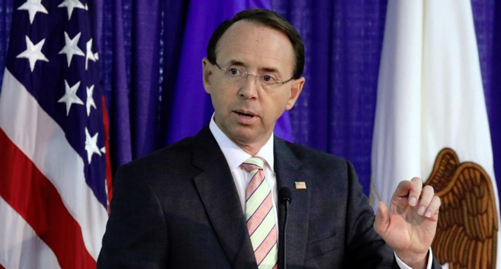 Rod Rosenstein has not resigned and is still deputy attorney general: source