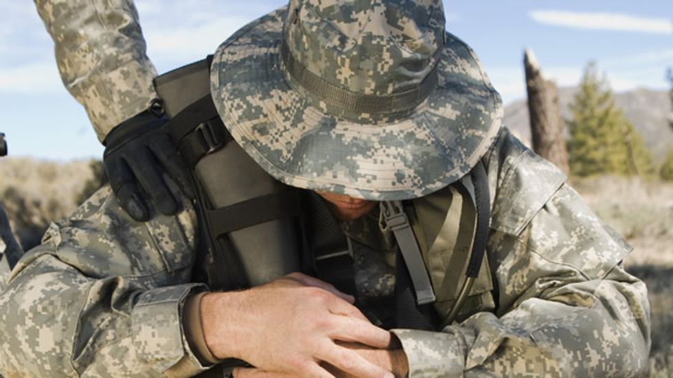 Defense Department seeks to implant devices capable of stimulating depressed soldiers' brains in real-time