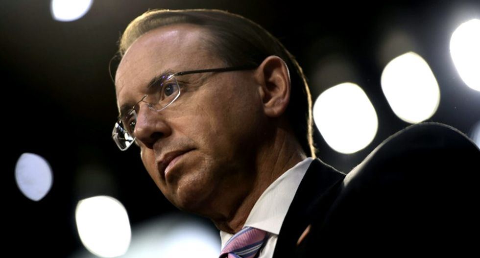 Rosenstein agreed to wear a wire because the DOJ and FBI were 'in open rebellion' after Comey firing: Ex-DOJ official