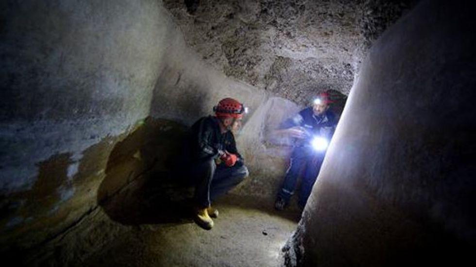 Hi-tech aqueduct explorers map ancient Rome's 'final frontier'