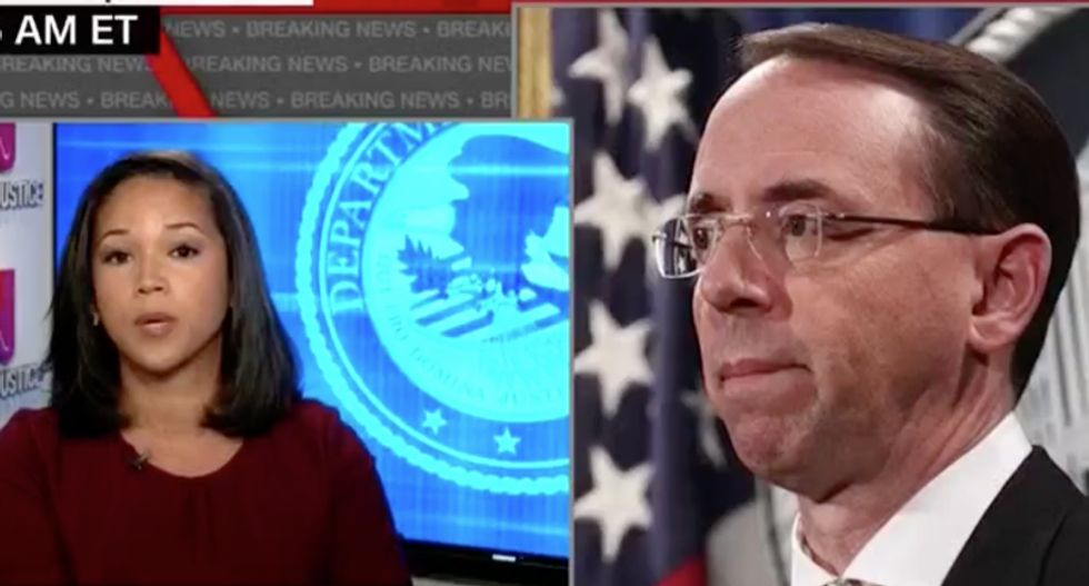 CNN reporter says DOJ has succession plan for Rod Rosenstein -- but Trump 'could blow up all that'