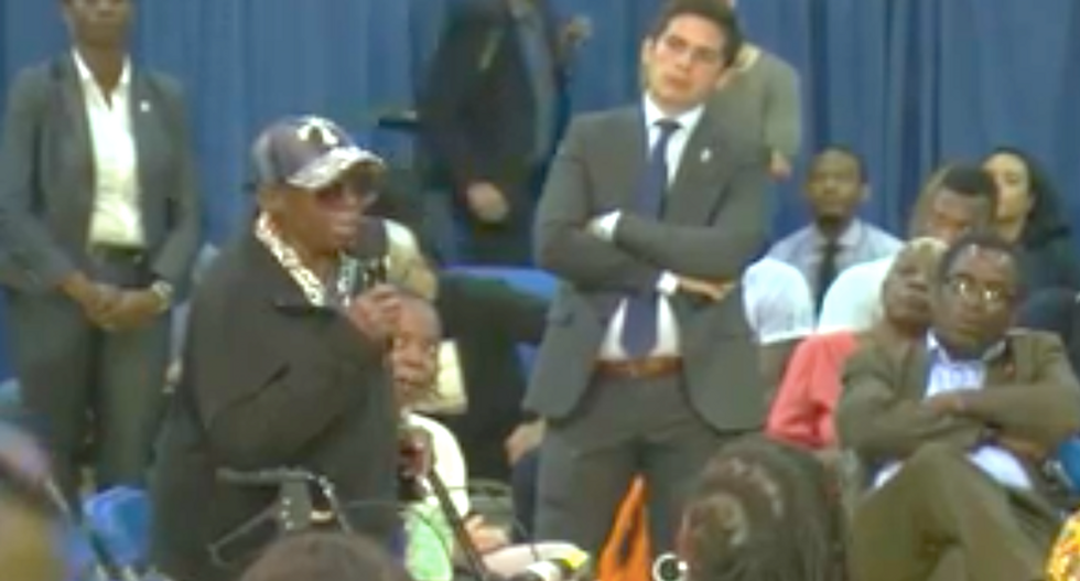 WATCH: 96-year-old woman blisters NYC mayor from behind her walker over crumbling sidewalks