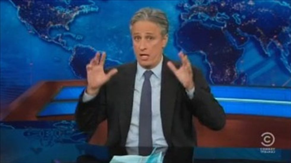Jon Stewart to Sean Hannity: 'It's not East Germany, you can get out' of NY 'any time'