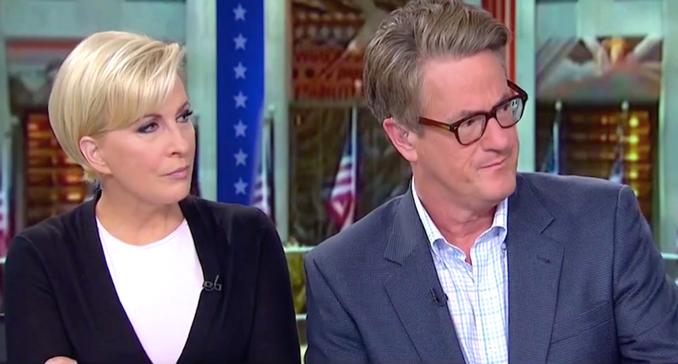 'If you lie you're a felon -- if you're president you're impeached': Morning Joe warns of grand jury perils