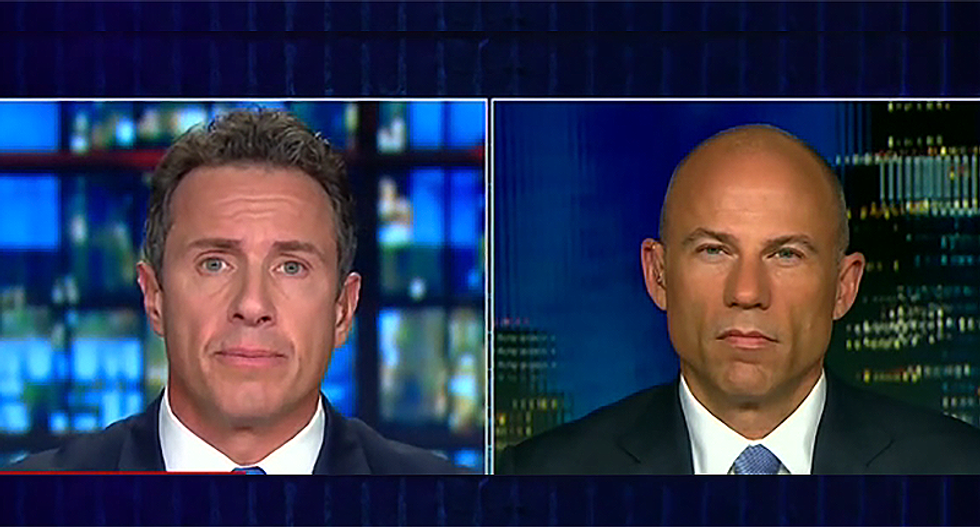 Michael Avenatti tells CNN's Chris Cuomo that the American people are too smart to believe Kavanaugh was a 'virgin'