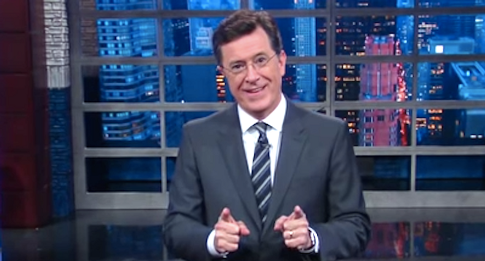 Stephen Colbert: 'The election is getting so ugly' it's not even Trump's first choice anymore