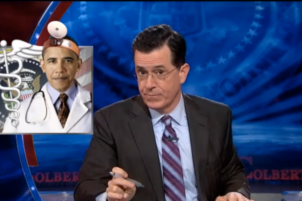 Colbert: Obamacare doesn't work, so 'BURN THE GAYS!'