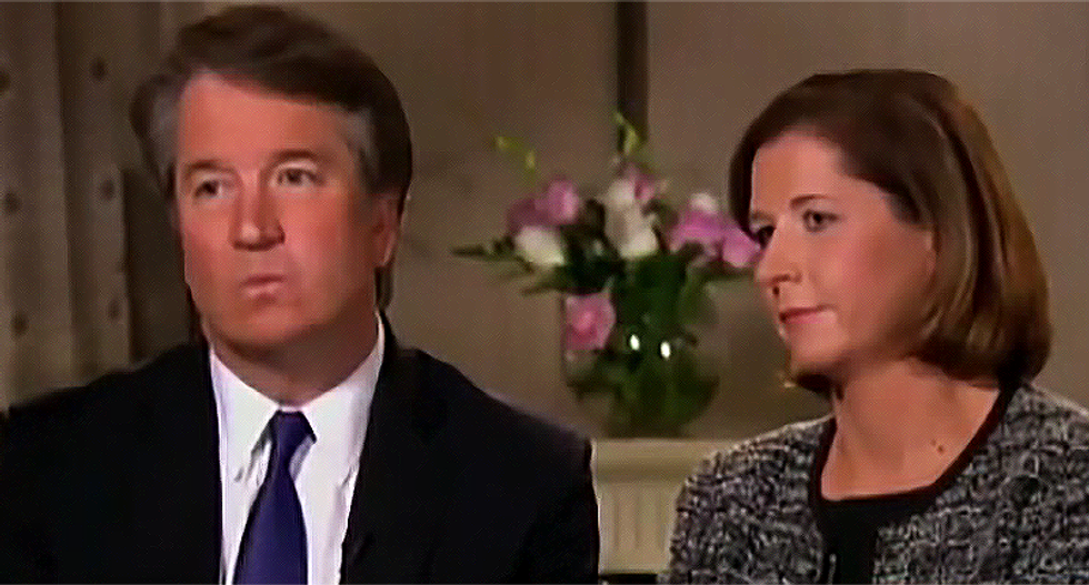 WATCH: Brett Kavanaugh said he couldn't have raped Dr. Ford because he was a 'virgin' in high school