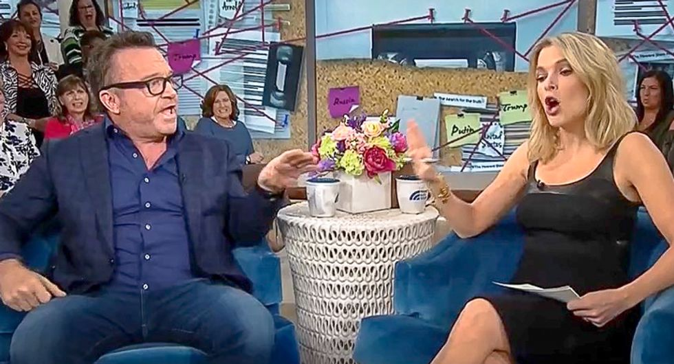 Tom Arnold confronts Megyn Kelly: 'You defend Kavanaugh and those guys, maybe you defend me for one second'