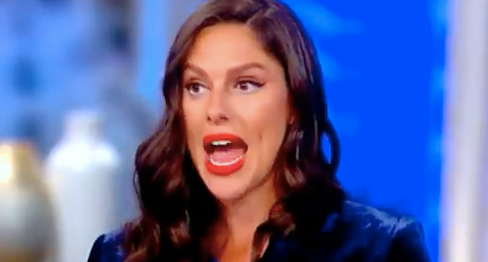 The View's Abby Huntsman praises Fox News 'mentor' for Kavanaugh interview -- but co-hosts light her up