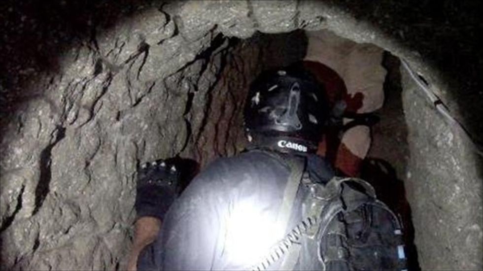 New drug 'supertunnel' found under U.S.-Mexico border