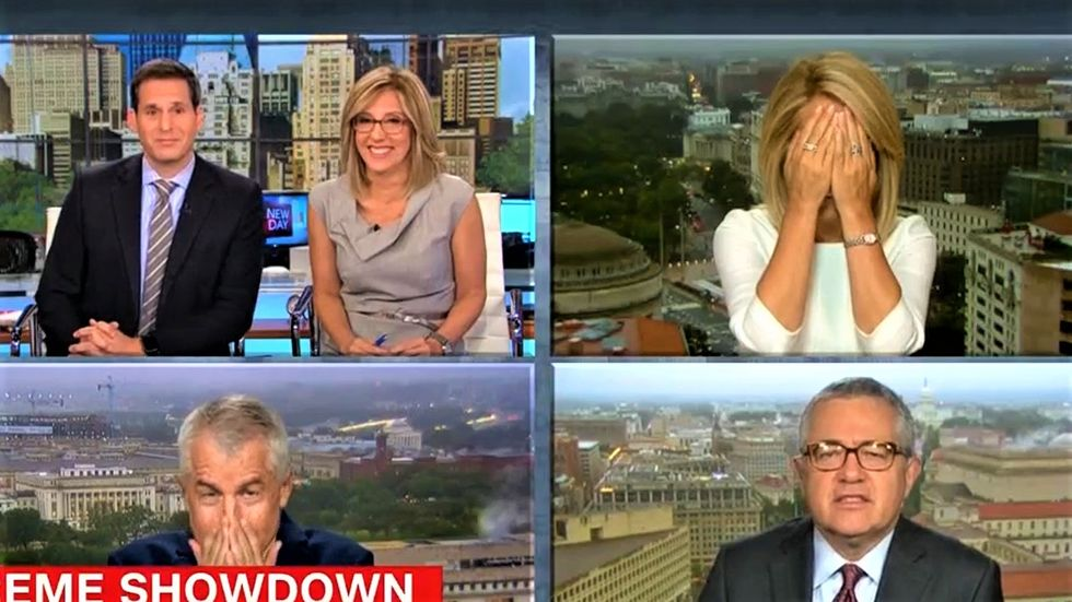 CNN panel recoils at Kavanaugh's 'cringeworthy' claim to have been a virgin through college: 'I need a spa day'