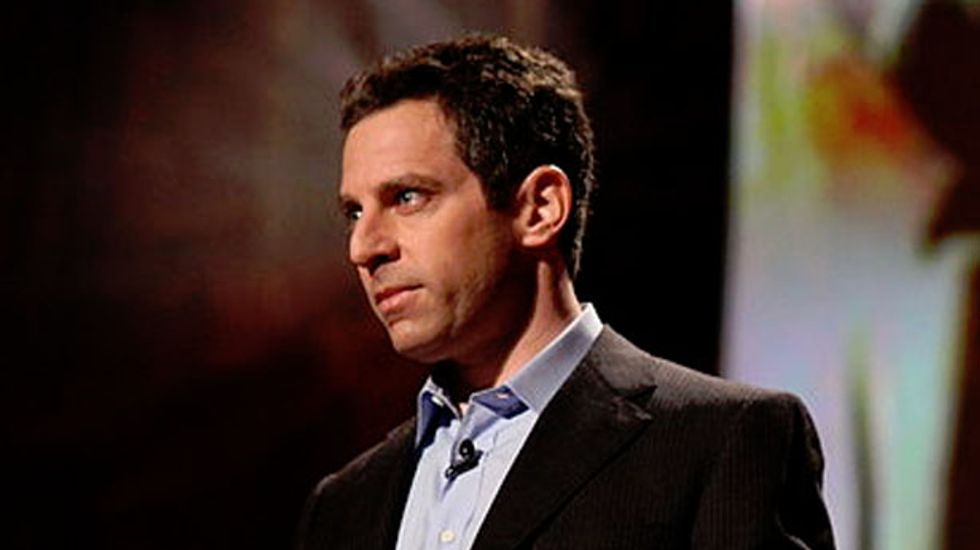 Another week, another atheist demands we call his sexism not-sexism. (This time, Sam Harris.)