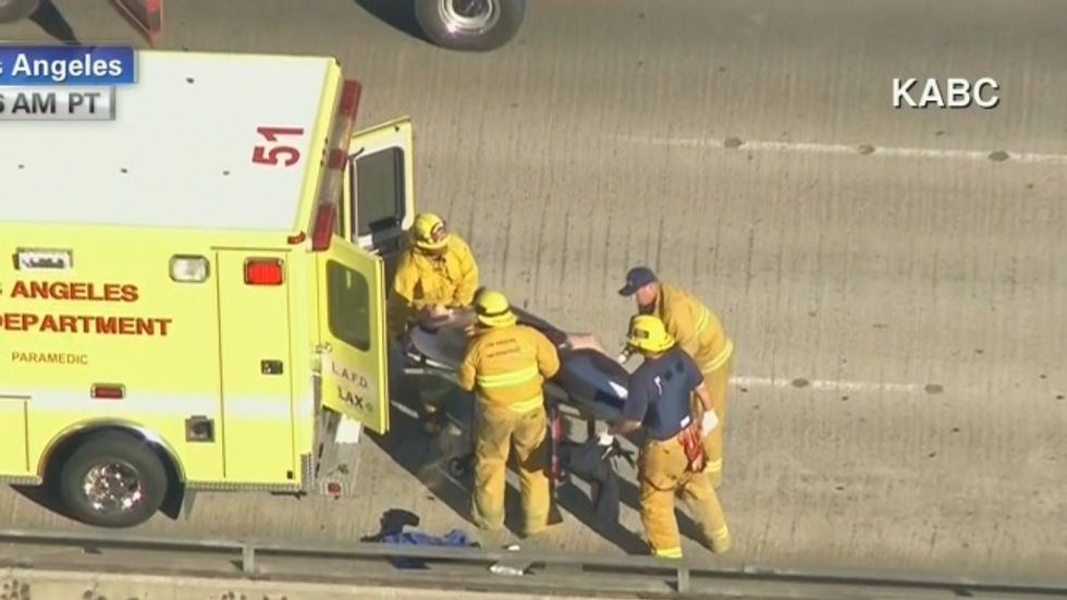 Seven people injured during shooting at Los Angeles airport
