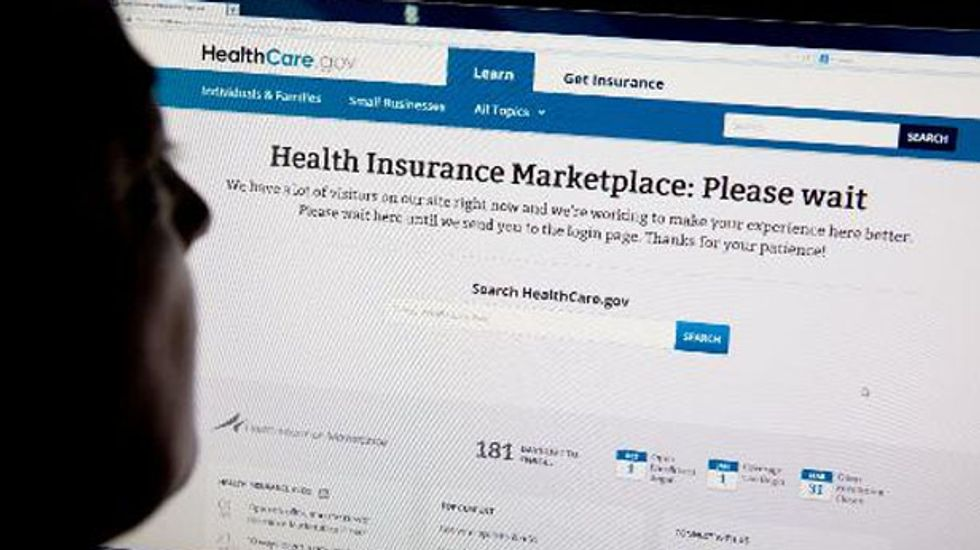 Only six Americans enrolled in 'Obamacare' on first day