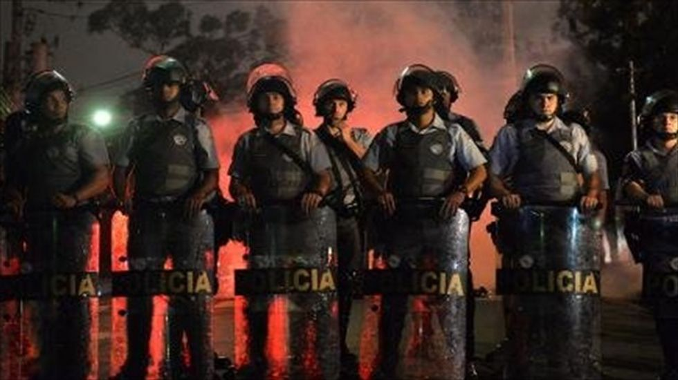 Brazilian police and protesters clash over forced evictions in Sao Paulo