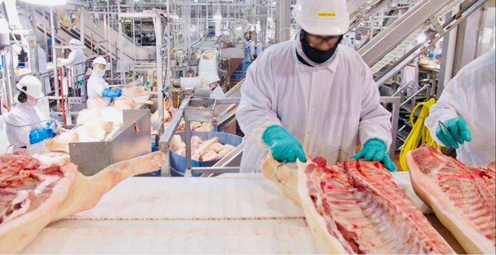 570 Tyson employees contract coronavirus after Trump forces meat plants to stay open during epidemic