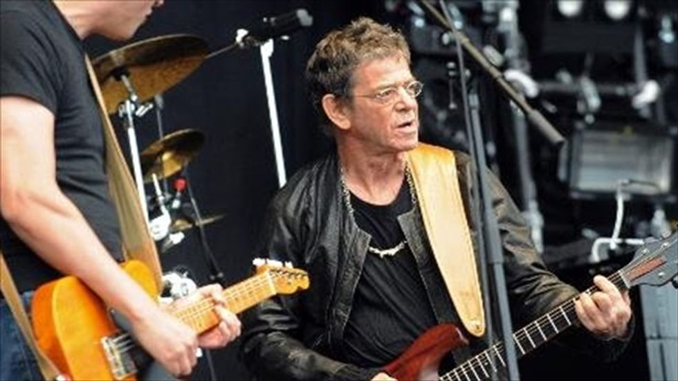Laurie Anderson: Lou Reed died while doing tai chi