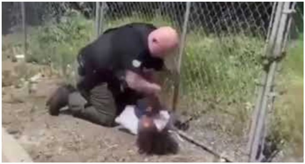 Healthcare workers demand cop be fired for beating black teen: This officer has 'made us all less safe'