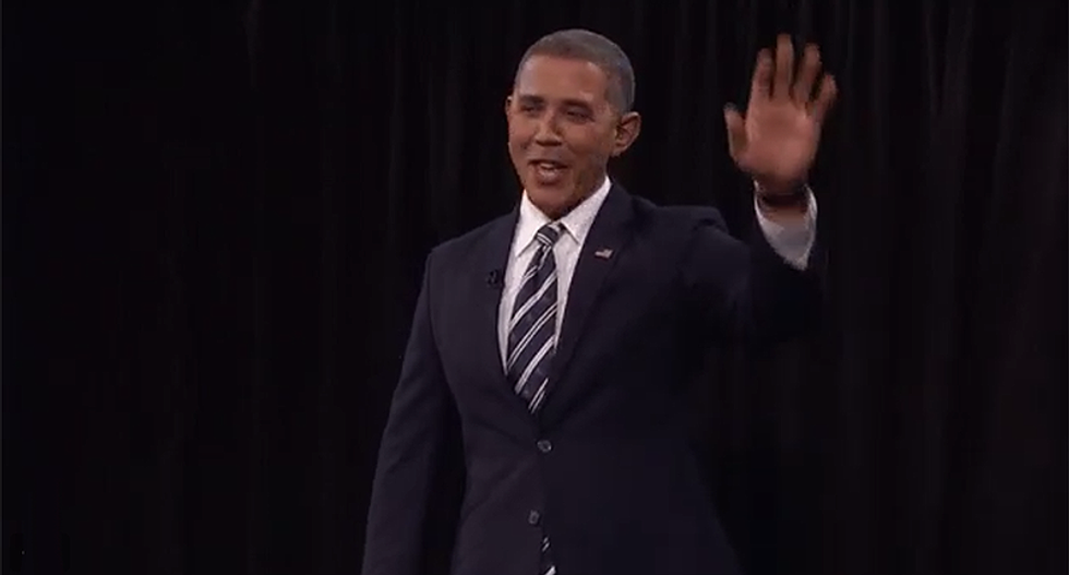 WATCH: Bill Maher gets an Obama impersonator to say Trump phrases so the GOP can see the absurdity