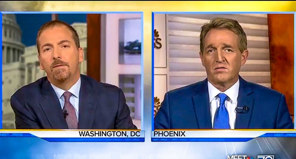 GOP Sen. Jeff Flake: 'I wish we as a party had stood up against birtherism'