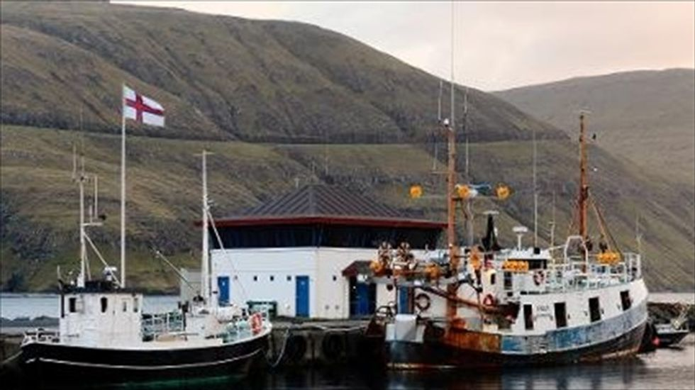 Faroe Islands launch fish fight with European Union over sanctions