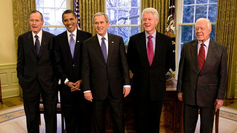 The one thing that might prevent the United States from becoming totally unrecognizable by 2020: Meet the ex-presidents