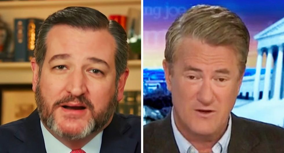 Ted Cruz and Joe Scarborough argue over who sold out more on Donald Trump