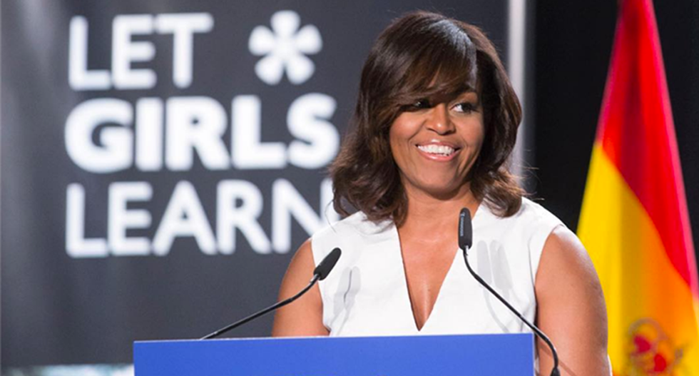 WATCH LIVE: Michelle Obama campaigns with Hillary Clinton in North Carolina