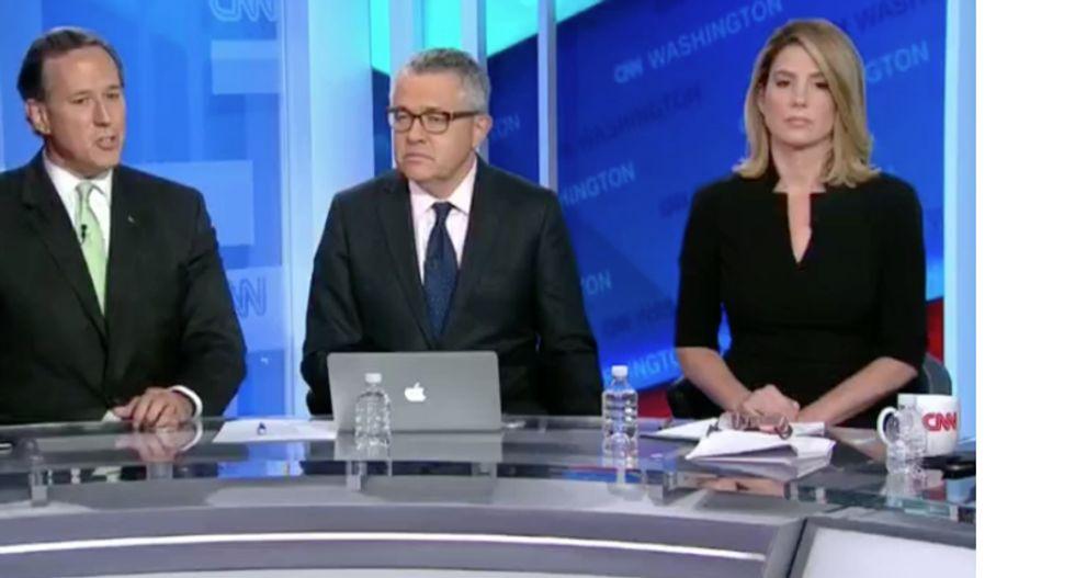 CNN's Kirsten Powers schools Rick Santorum on how sexual assault cases are handled
