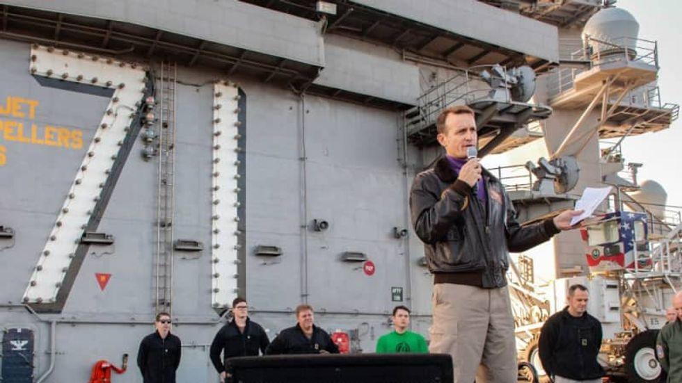 Navy, wary of virus, stays vigilant as civilian world edges toward reopening