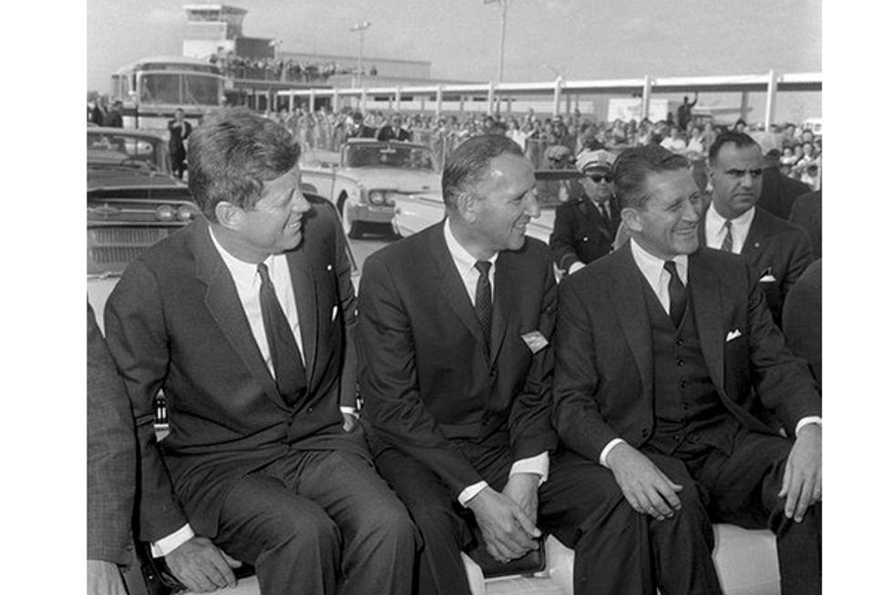 JFK. A motorcade. A rifle. But this wasn't Dallas.