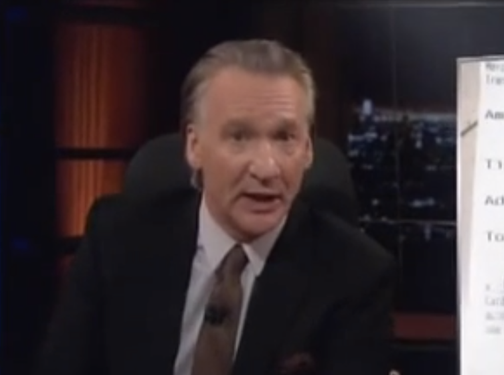 Maher: U.S. Christians have traded Christ's values for philosophy of 'F*ck off and die'