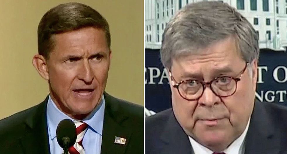 Trump's solicitor general refuses to tell court reasons why Barr is defending Flynn: 'Some of it's public, some of it's not'