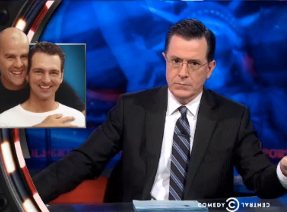 Colbert: Russia promises secure Olympics, safe from gays and 'rioting p*ssy'