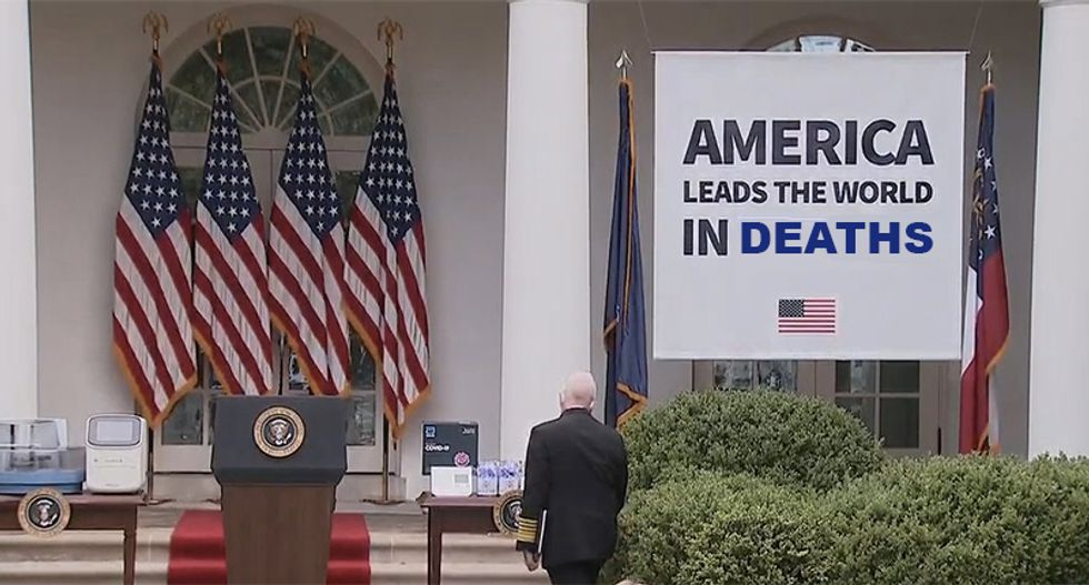 White House banners mocked online with crafty photoshopping