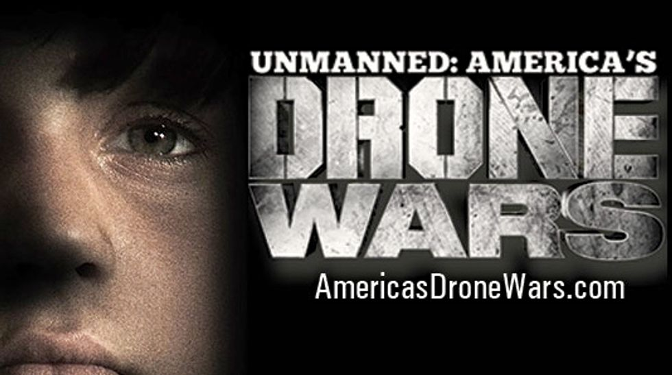 Join us for an exclusive online screening and post viewing-discussion of Robert Greenwald's 'Unmanned: America's Drone Wars'