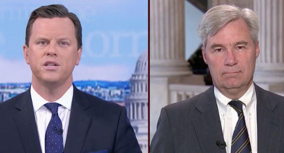 Democratic Senator accuses GOP of 'waving the partisan bloody shirt' during Kavanaugh hearings