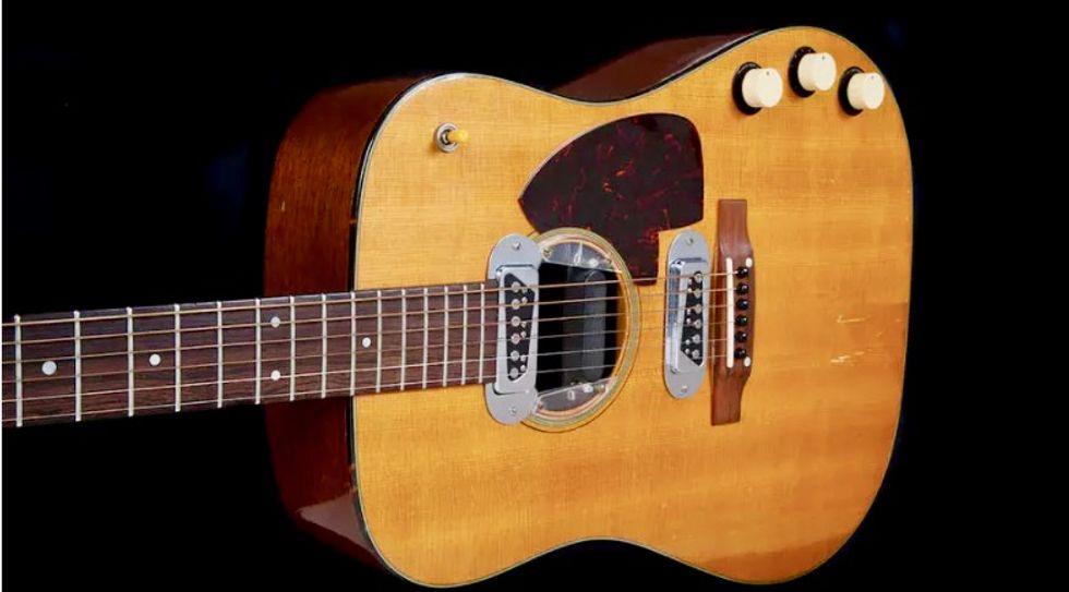 Kurt Cobain's 'Unplugged' guitar up for auction starting at $1 million