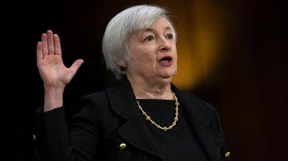 Incoming Federal Reserve chief Janet Yellen sees stronger growth this year