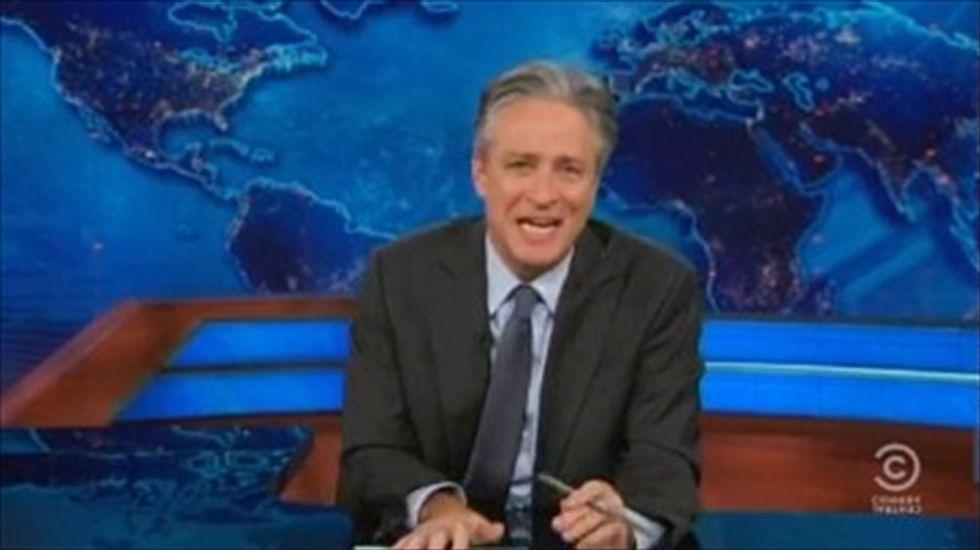 Jon Stewart mocks 'pile of sh-t' Time magazine for Chris Christie cover story